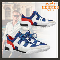 HERMES Hermes Voltage Sneaker / Sporty & Casual Leather