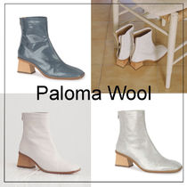 Paloma Wool Casual Style Leather Ankle & Booties Boots