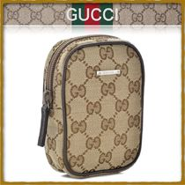 GUCCI Unisex Leather Wallets & Card Holders