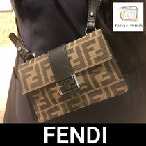 FENDI BAGUETTE Monogram 2WAY Messenger & Shoulder Bags