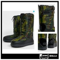 Love Moschino Camouflage Boots Boots