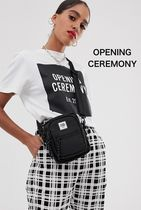 OPENING CEREMONY Casual Style Street Style Plain Shoulder Bags
