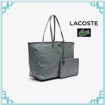 LACOSTE Casual Style A4 Plain Totes