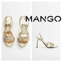 MANGO Pin Heels Party Style Elegant Style Heeled Sandals