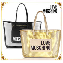 Love Moschino Plain Totes