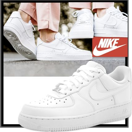 Nike AIR FORCE 1 Casual Style Low-Top Sneakers