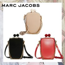 MARC JACOBS Casual Style Vanity Bags 2WAY Plain Leather Party Style