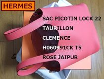 HERMES Picotin Lock Casual Style 2WAY Leather Party Style Elegant Style Handbags