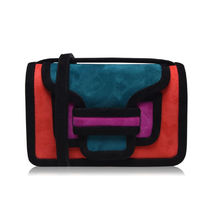 Pierre Hardy Casual Style 2WAY Leather Crossbody Shoulder Bags