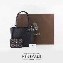 GOYARD Leather Office Style Totes