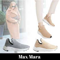 MaxMara Rubber Sole Casual Style Slip-On Shoes