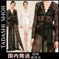 TADASHI SHOJI Flower Patterns Plain Lace Slips & Camisoles