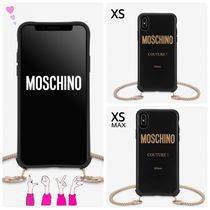 Moschino Unisex Faux Fur Chain Plain Home Party Ideas Special Edition