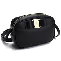 Salvatore Ferragamo Calfskin Plain Shoulder Bags