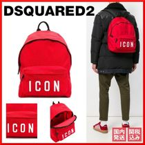 D SQUARED2 Casual Style Nylon Backpacks