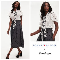Tommy Hilfiger Collaboration Elegant Style Shirts & Blouses