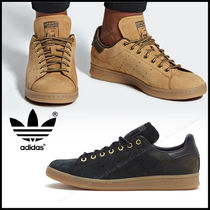 adidas STAN SMITH Casual Style Unisex Street Style Plain Low-Top Sneakers