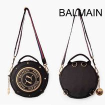 BALMAIN Street Style 2WAY Shoulder Bags
