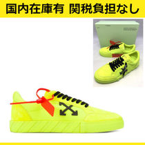 Off-White Suede Street Style Sneakers