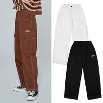 NASTYKICK Casual Style Street Style Plain Cotton Long Pants