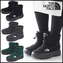 THE NORTH FACE Nuptse Casual Style Unisex Street Style Plain Flat Boots