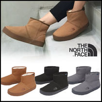 THE NORTH FACE Casual Style Unisex Suede Street Style Plain Flat Boots