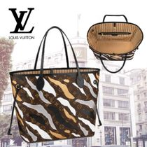 Louis Vuitton MONOGRAM Camouflage Monogram Casual Style Canvas Collaboration 2WAY
