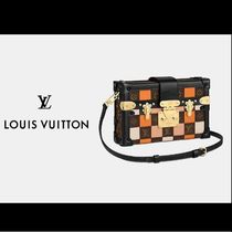 Louis Vuitton MONOGRAM Casual Style Canvas 2WAY Leather Party Style Elegant Style