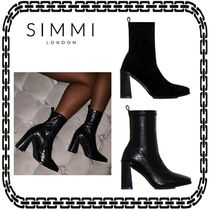 SIMMI Casual Style Street Style Pin Heels Elegant Style