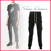 RICK OWENS Tapered Pants Cotton Tapered Pants