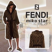 FENDI Unisex Silk Cotton Underwear & Roomwear
