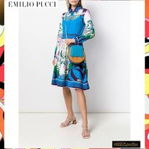 Emilio Pucci Casual Style Shoulder Bags