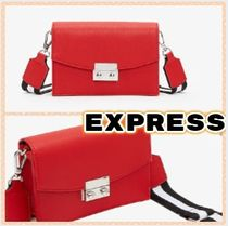EXPRESS Plain Party Style Office Style Elegant Style Shoulder Bags