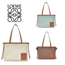 LOEWE Casual Style Street Style Totes