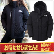 THE NORTH FACE Short Unisex Street Style Oversized Down Jackets