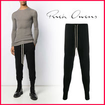 RICK OWENS Tapered Pants Tapered Pants