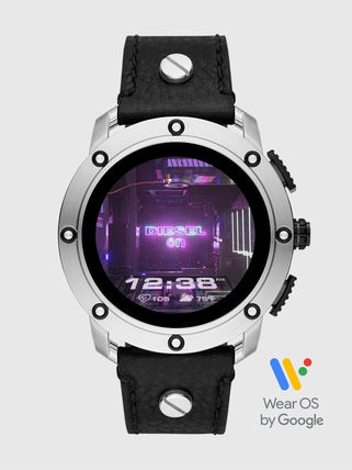 DIESEL Blended Fabrics Street Style Smartwatch Digital Watches