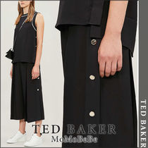 TED BAKER Casual Style Medium Office Style Cropped & Capris Pants