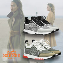 HERMES Casual Style Low-Top Sneakers