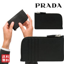 PRADA Leather Coin Cases