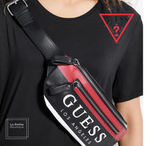 Guess Casual Style Unisex Faux Fur Elegant Style Hip Packs