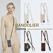 Bandolier Plain Leather Smart Phone Cases