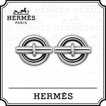 HERMES Casual Style Unisex Party Style Silver Elegant Style