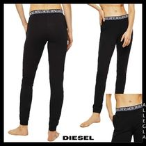 DIESEL Sweat Plain Cotton Long Sweatpants