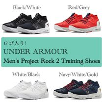 UNDER ARMOUR Blended Fabrics Street Style Sneakers