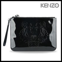 KENZO Casual Style Street Style Clutches