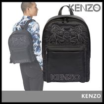 KENZO Casual Style Street Style Backpacks