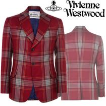 Vivienne Westwood Short Other Check Patterns Wool Home Party Ideas Jackets