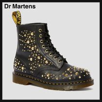 Dr Martens Unisex Plain Leather Engineer Boots
