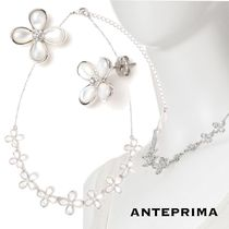 ANTEPRIMA Casual Style Flower Party Style With Jewels Elegant Style